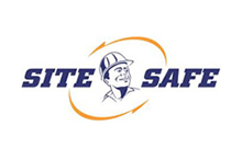 T8 Traffic Control Site Safe Logo